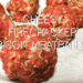 Easy, Cheesy, Firecracker Bison Meatballs